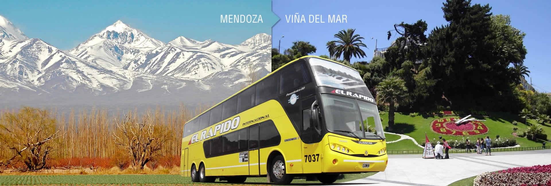 Mendoza - Viña del Mar (Chile) by bus